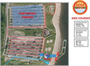 FIT Family Series: Alum Creek Kidz course map