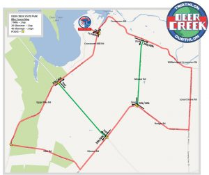 FIT Deer Creek bike map