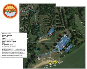 Atwood Lake Kidz course map