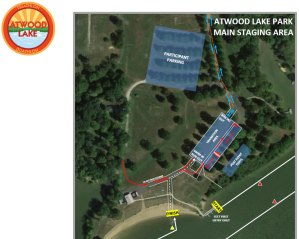 Atwood Lake staging area