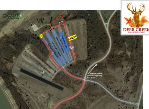 Deer Creek Fall Challenge site map