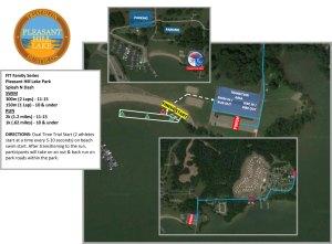 Pleasant Hill Lake Kidz Map