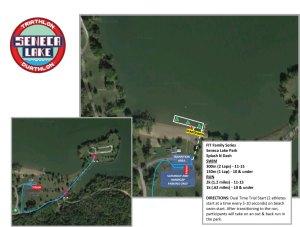 Seneca Lake Park Kidz course map