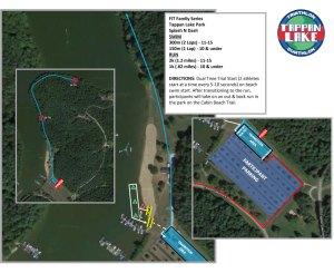 Tappan Lake - Kidz course map