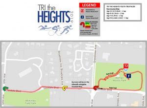 Tri The Heights Run Course