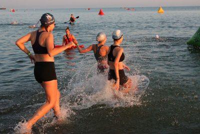 Swim Course Rescue Equipment