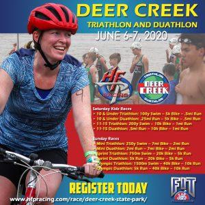 Deer Creek State Park - Triathlon