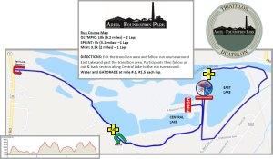 Ariel Foundation Park Run Map