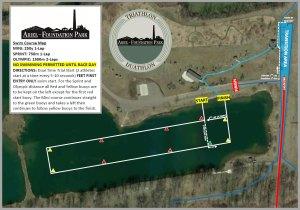 Ariel Foundation Park Swim Map